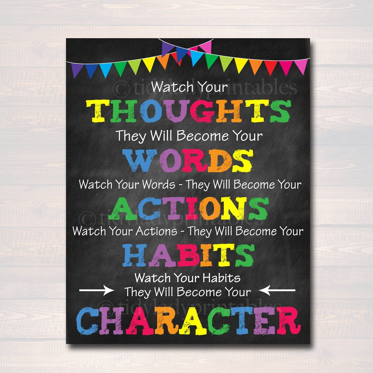 Classroom Printable Poster Counselor Office Decor High