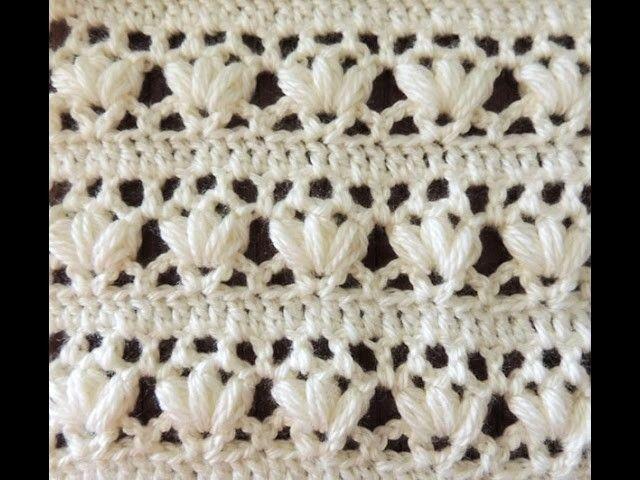 Crochet: Punto Combinado # 14 | Crochet | Pinterest | Puntos, Este ...