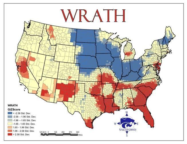 Wrath Hotspots Violent Crime Per Capita Maps Graphs Charts - Map-of-violent-crime-in-us
