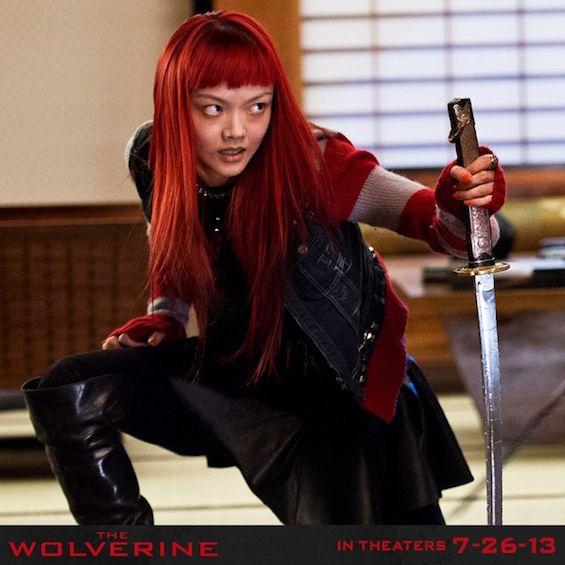 Awesome Yukio Rila Fukushima Wolverine Actresses