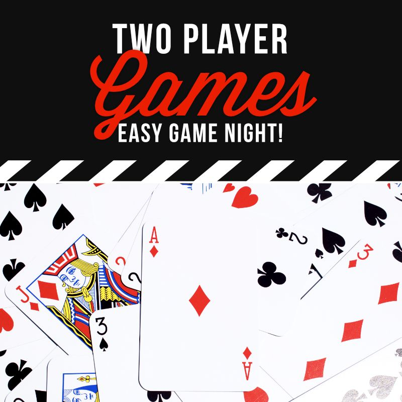 2 Player Card Games with a Deck of Cards From Fun card