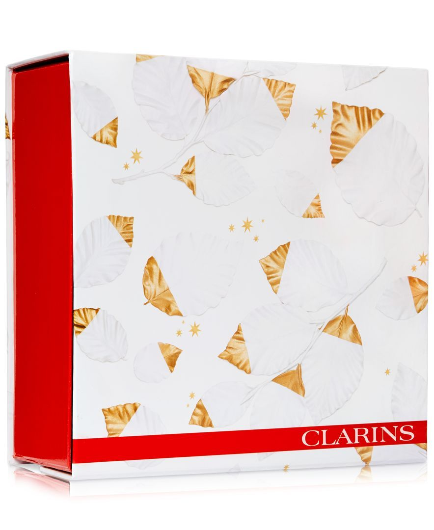 Receive a Free Large Gift Box with $65 Clarins Skincare purchase
