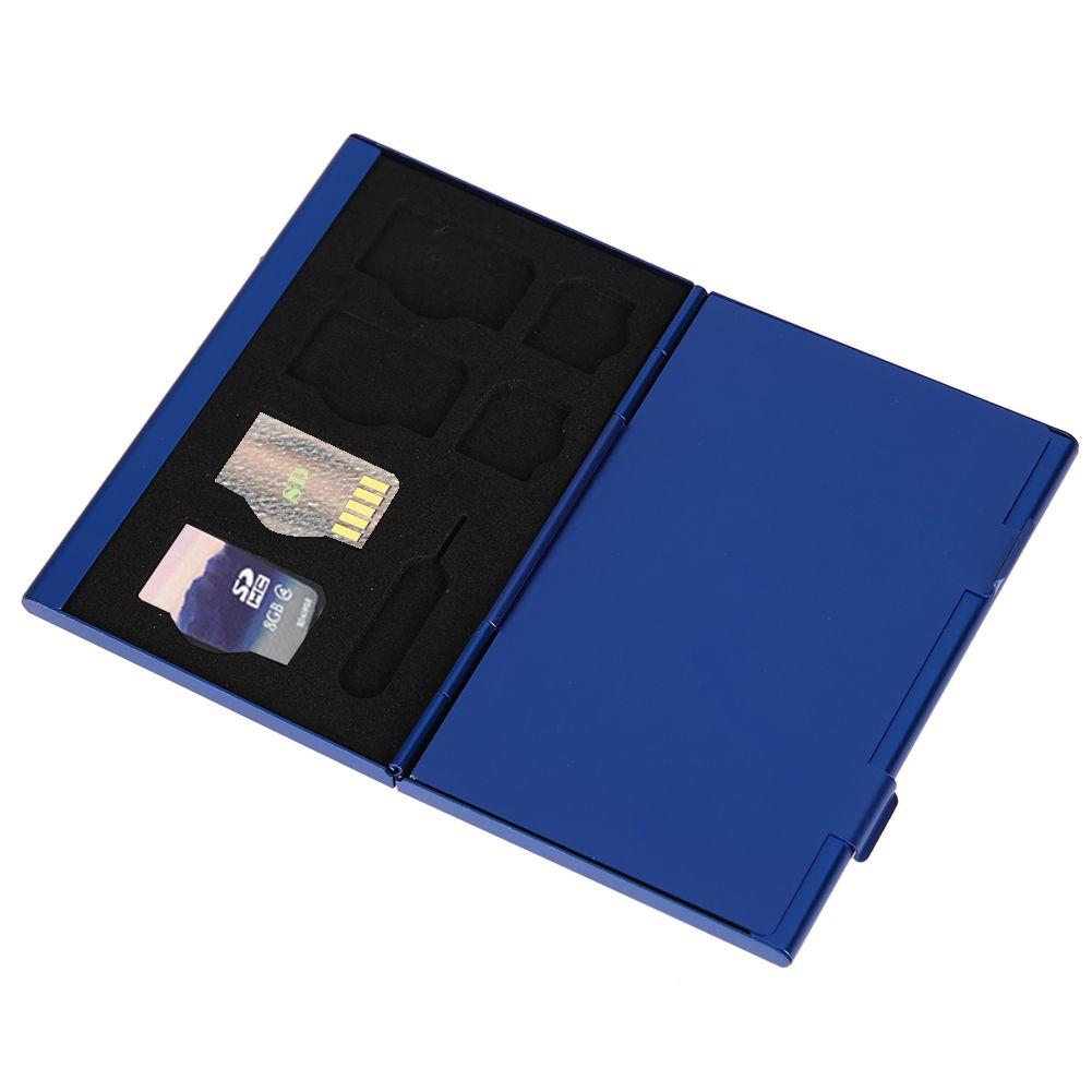 15 in 1 aluminum memory card storage case box holders