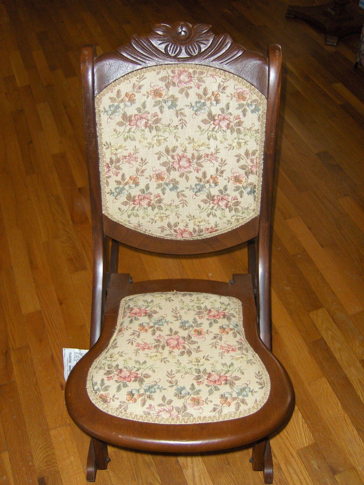 Folding Rocking Chair Flexsteel Industries Inc