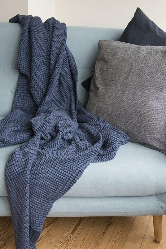 Plaid Dille En Kamille.Plaid Pillow Dille Kamille Huisje Blaue Decke