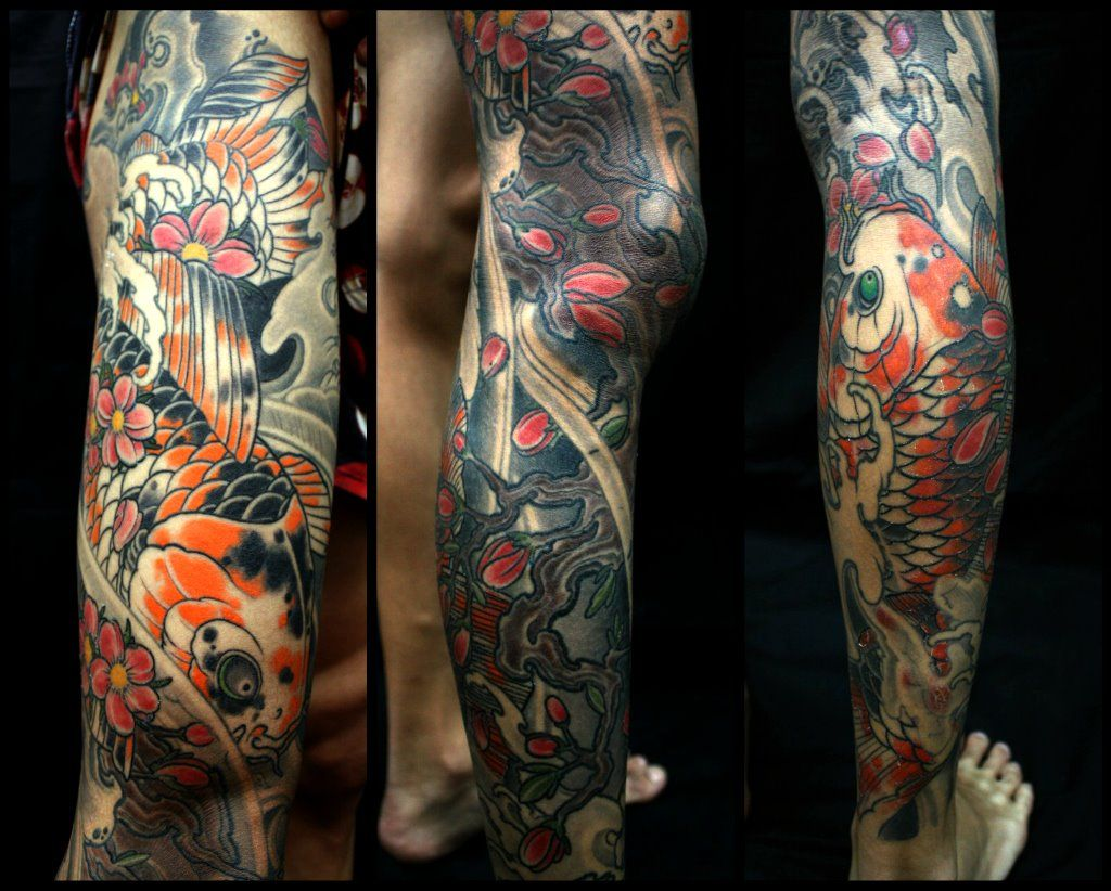 Lower leg guys traditional sleeve tattoos - Calf Tattoos For Guys Google Search