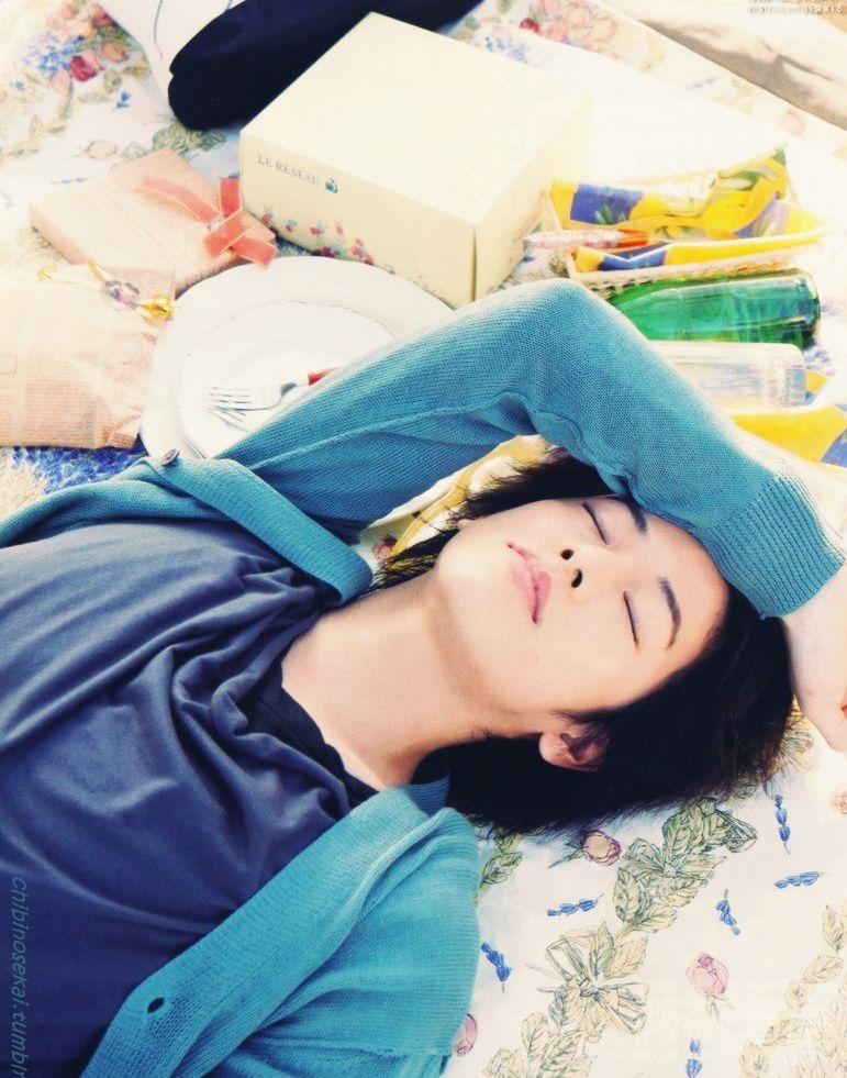 Takeru Satoh <3 <3 <3 Too much cute!