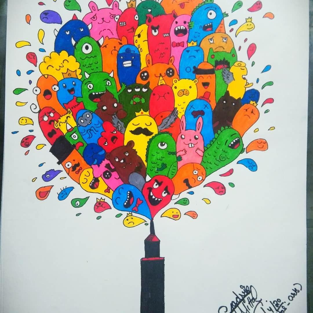Doodling doodles artwork art