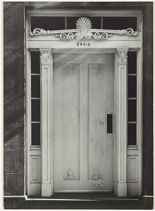 Doors & Greek Revival Doors | Greek Revival Doorway New York City. Walker ...