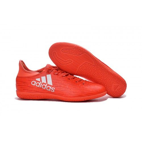 Buy Adidas X Indoor Mens Football Boots Soccer Cleat Red Silver On Sale  Find this Pin and
