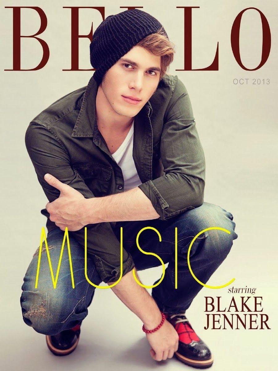 "Male Fashion Trends: Blake Jenner para BELLO Magazine Octubre 2013 ""Obsession Issue"""