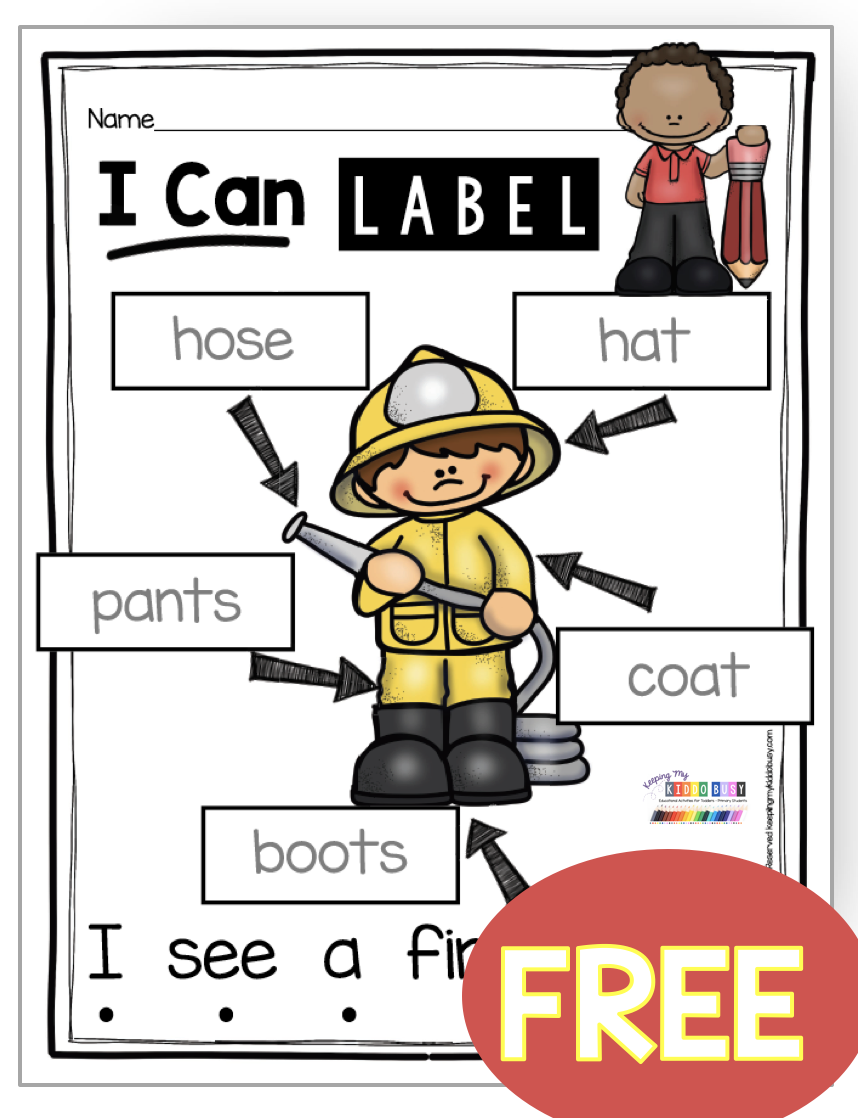 All About Me And My Community Freebies Keeping My Kiddo Busy Community Helpers Preschool Fire Safety Preschool Fire Safety Kindergarten [ 1118 x 858 Pixel ]