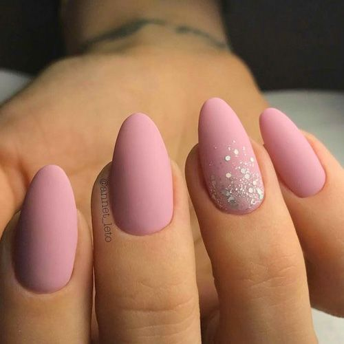 27 + Amazing Natural Light Pink Nails Design voor Young Lady in 2019