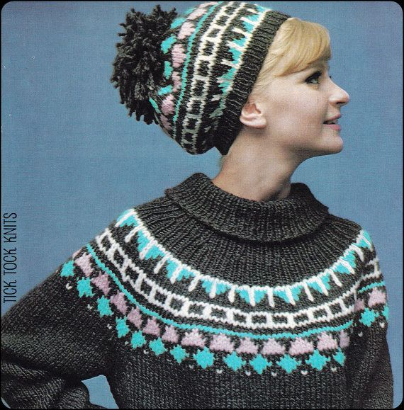 No183 PDF Vintage Knitting Pattern Women's Fair by TickTockKnits ...