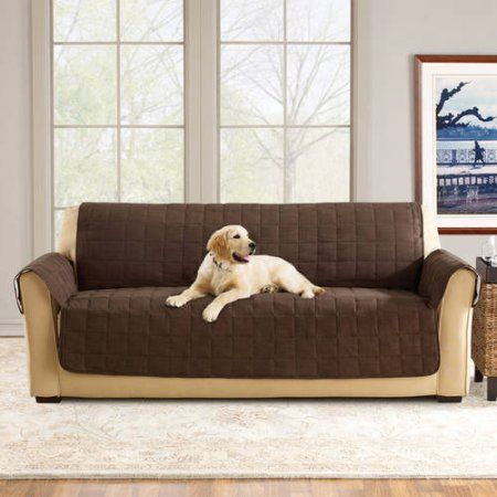 Sure Fit Ultimate Waterproof Quilted Pet Sofa Cover Pet