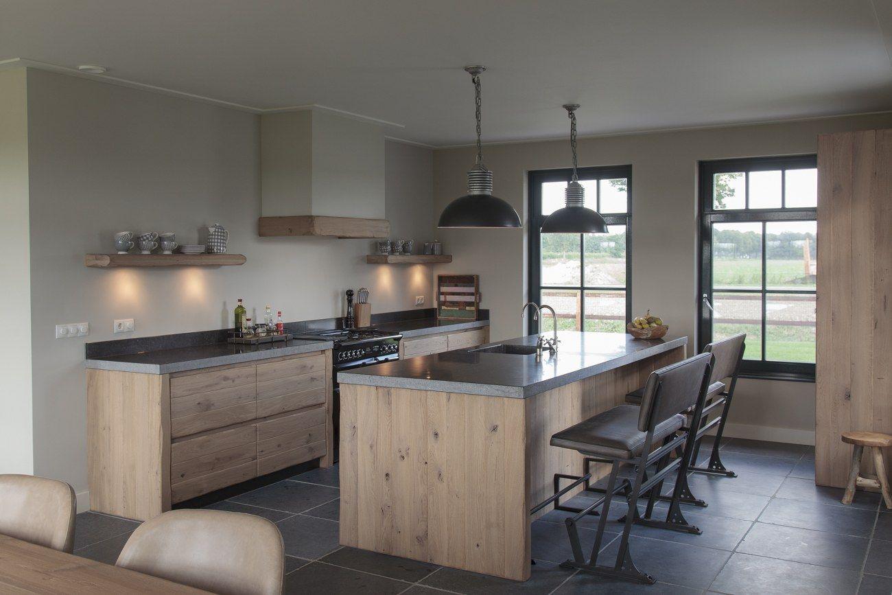 Thijs van de wouw keukens houten keuken in stijl home