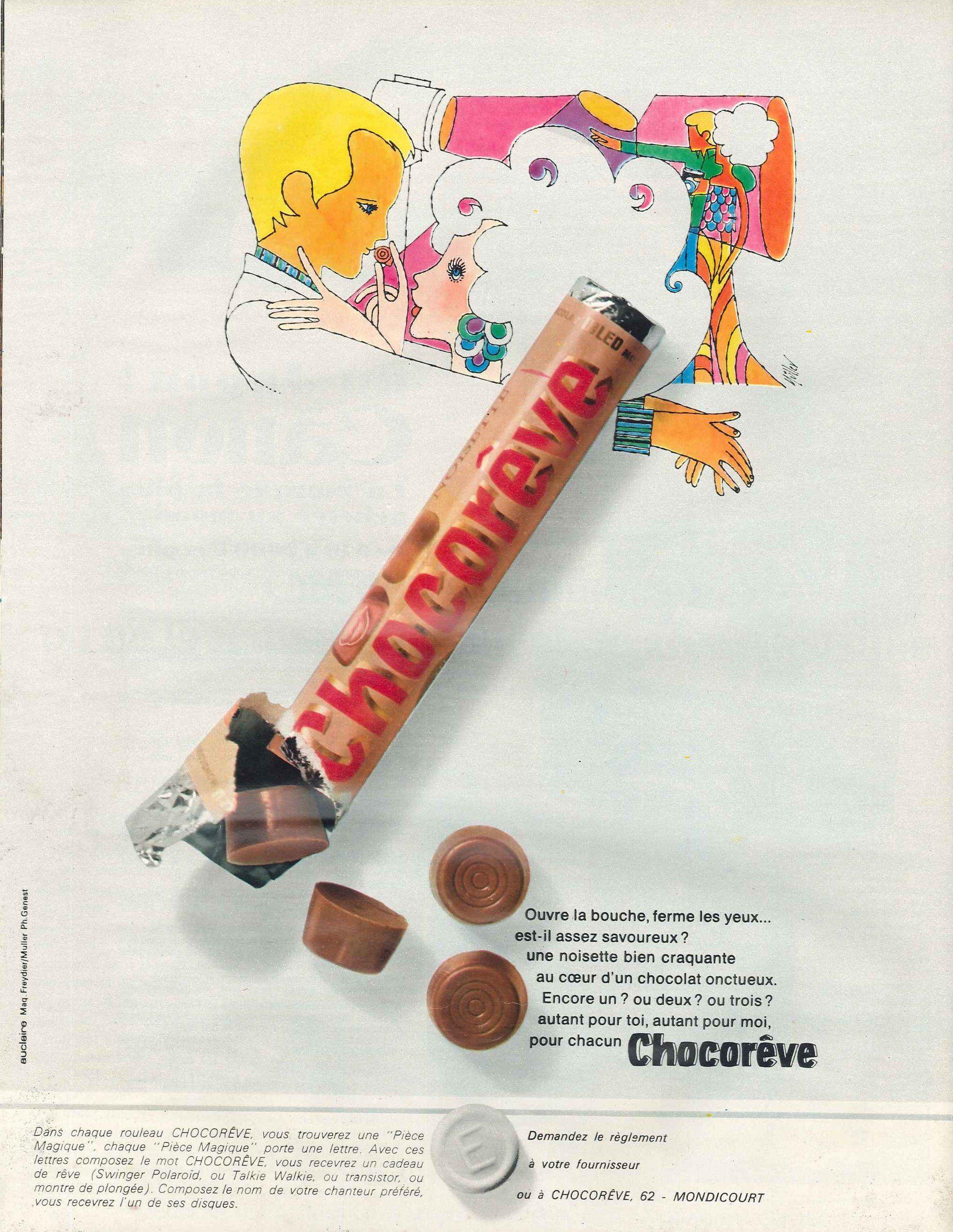 """Ouvre la bouche, ferme les yeux... Chocorêve + opération """"pièce magique"""" - Paris Match, 15 juin 1968"""