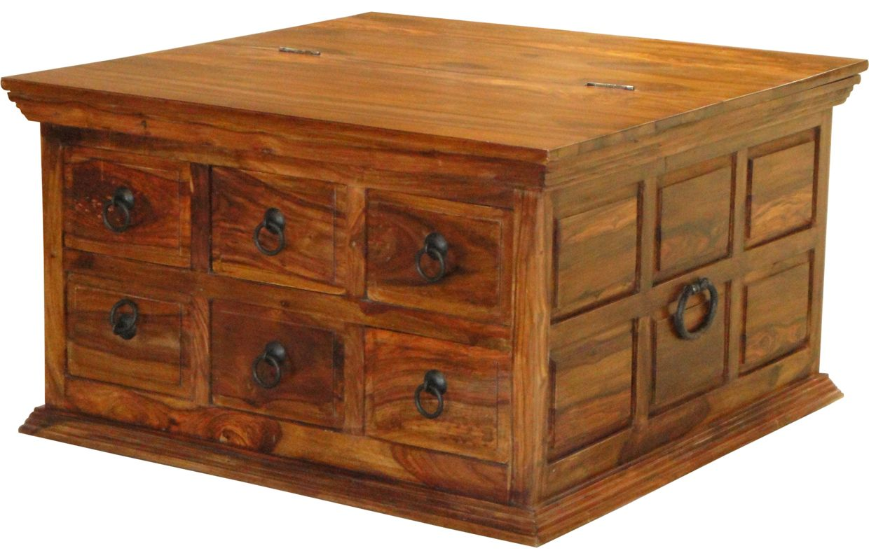 Side table with drawer  Indore Coffee Table with  Drawers  Indore Coffee and Drawers