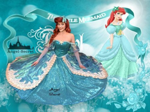P157 new little mermaid aqua custom gown princess ariel teal sequins p157 new little mermaid aqua custom gown disney princess ariel teal sequins shel altavistaventures Image collections