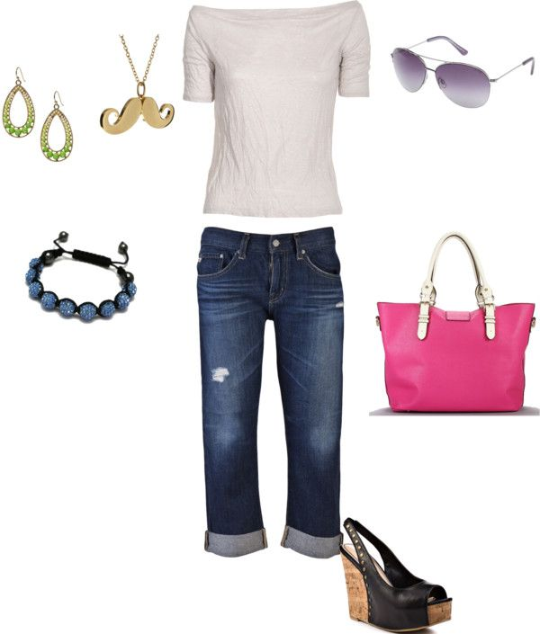 Summer Casual, created by erin-dose on Polyvore