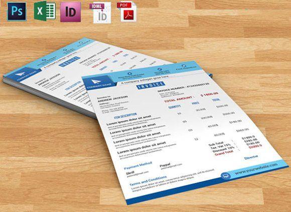 invoice template Business Invoice , Multipurpose Invoice - shop invoice