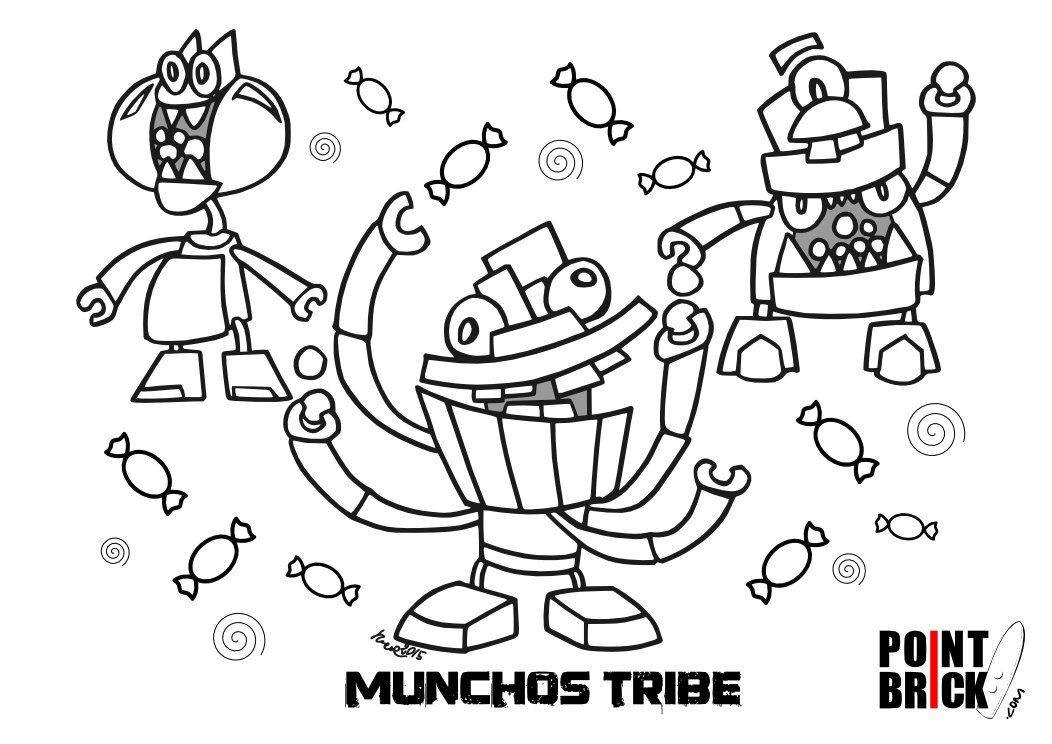 lego mixels coloring pages | Movie | Pinterest | Lego, Birthdays ...