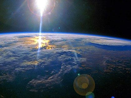 Earth's curvature from space | The Universe, Stars, Moon, Wonders in