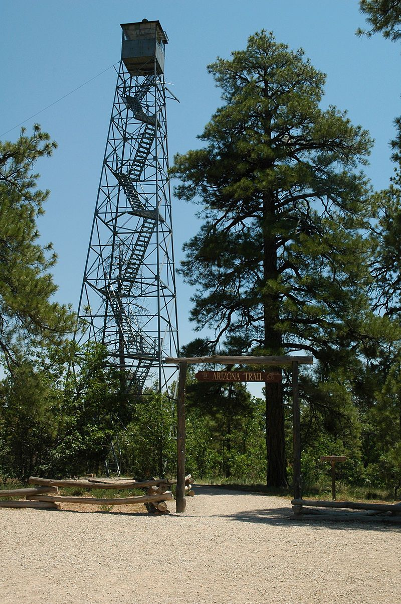 Grandview Lookout Tower and Cabin in Coconino County