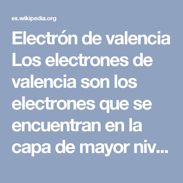 Electrn de valencia los electrones de valencia son los electrones electrn de valencia los electrones de valencia son los electrones que se encuentran en la capa urtaz Choice Image