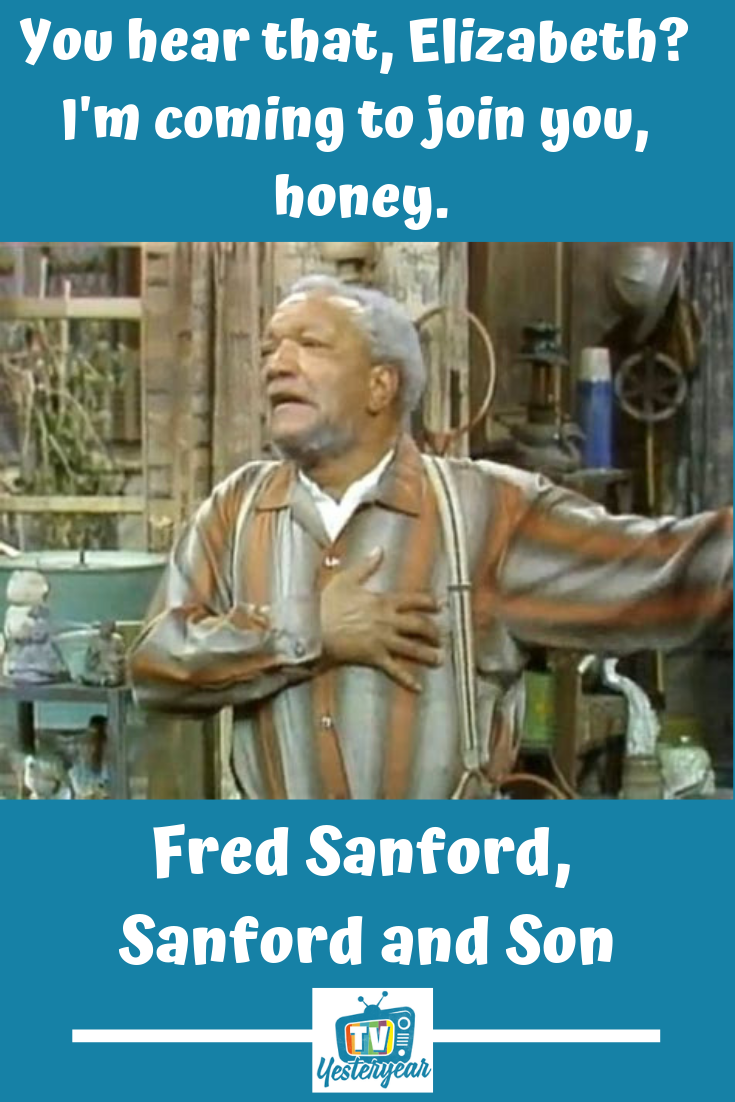 Sanford And Son Tv Yesteryear Sanford And Son Sanford Tv Quotes