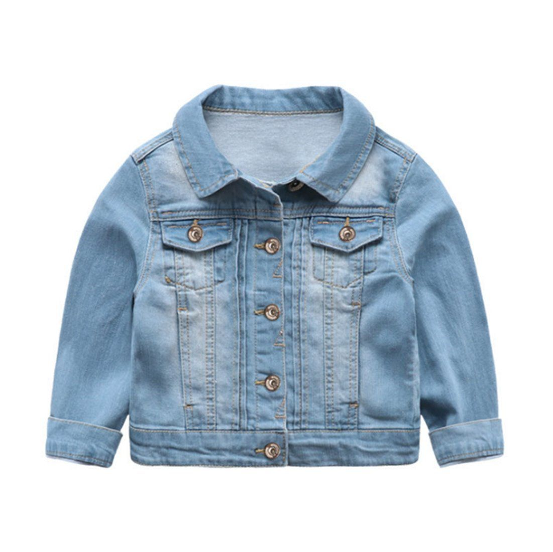 40959c12b Winzik Little Boys Kids Outfits Spring Autumn Lapel Long Sleeve ...