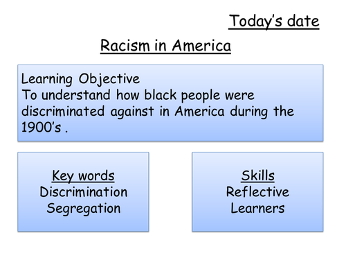 Intro to civil rights movement.ppt | Black History Resources | Pinterest