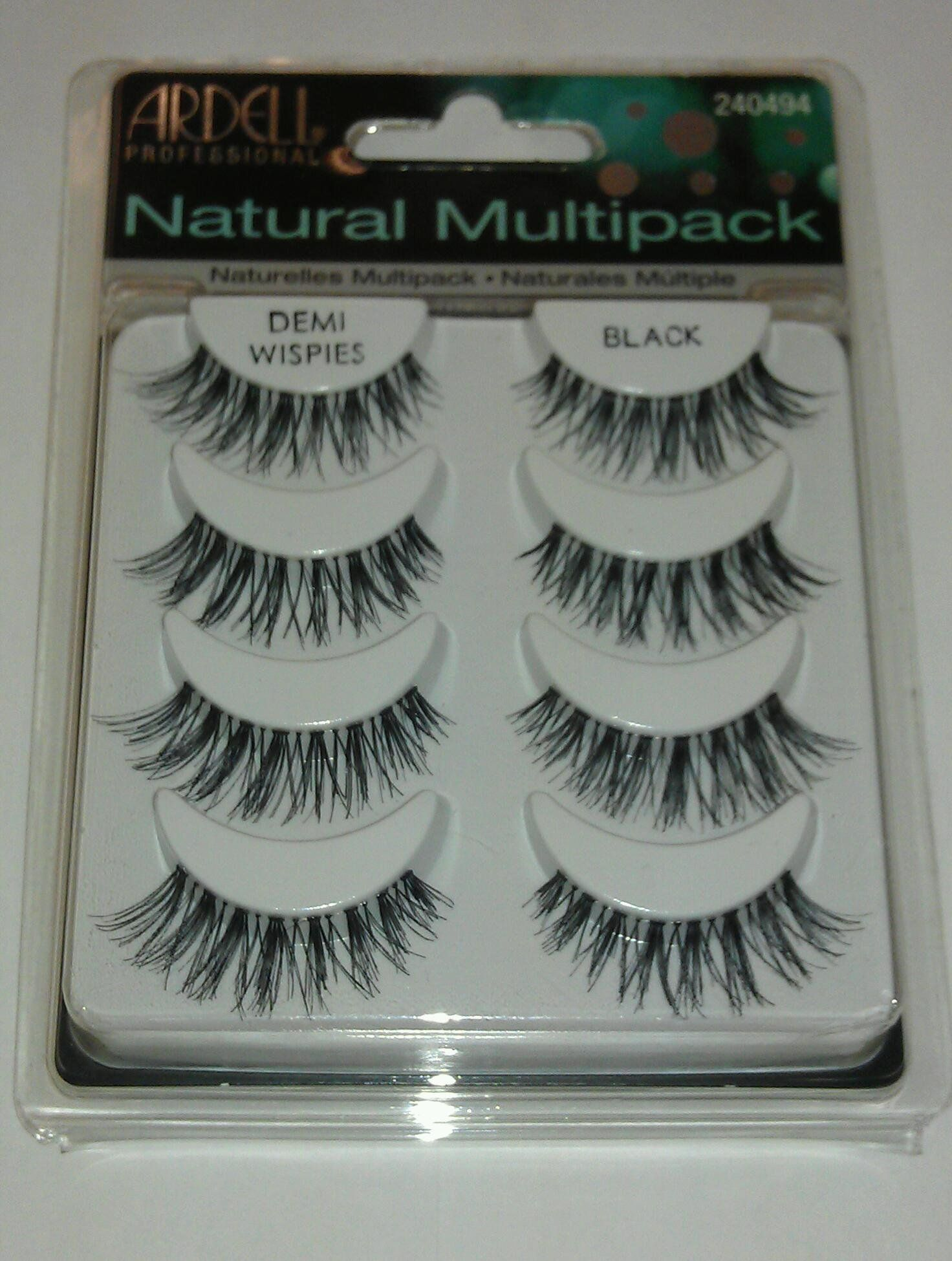 c8dbf0b72ba Ardell Fashion Lashes Black Demi Wispies Multipack. Lashes 1 Multipack = 4  pairs. Demi Wispies Black Lashes. Natural.