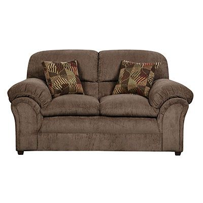 Mocha Couch And Loveseat