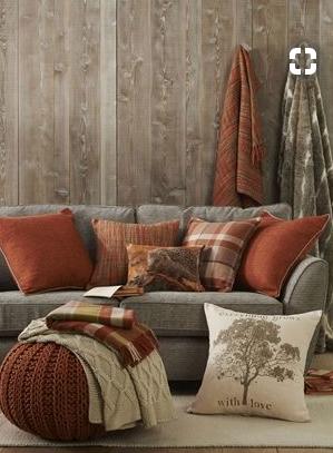Grey Orange Living Room Living Room Orange Grey Burnt Orange And Grey Livin In 2020 Living Room Orange Grey And Orange Living Room Living Room Decor Orange