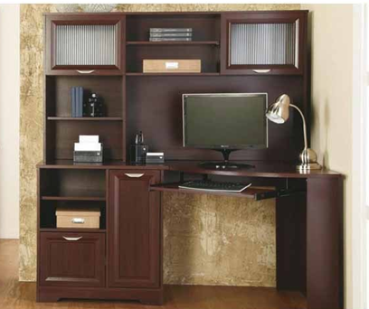 Magellan Corner Desk With Hutch Office Depot