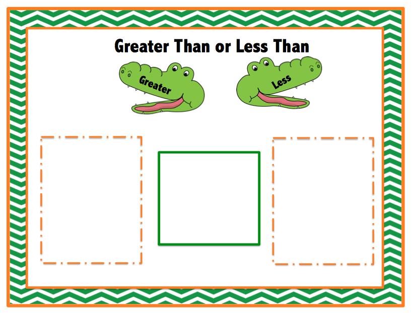picture relating to Greater Than Less Than Alligator Printable named Preschool Printables: Free of charge Alligator Larger sized of A lot less Than