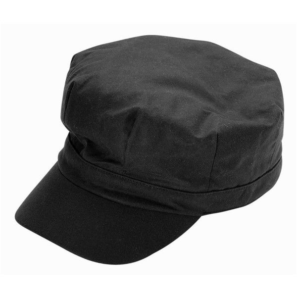 Women s Barbour Waxed Cotton Baker Boy Hat - Black ( 44) ❤ liked on  Polyvore featuring accessories fce6f2910f8