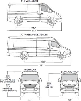 Refrigerated Van Diagrams