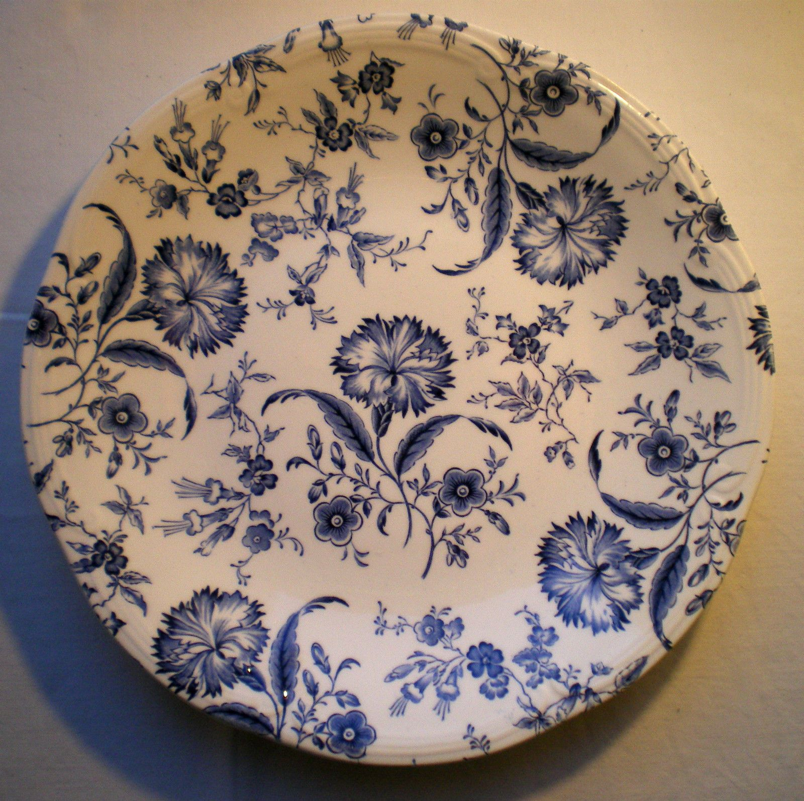Connu Assiette Art Nouveau Terre de Fer Porcelaine opaque GIEN: Iris  YR16