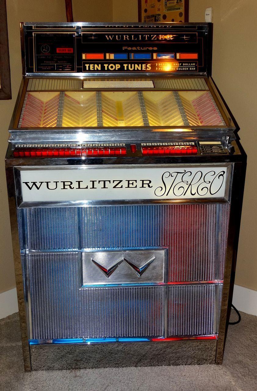 1963 Wurlitzer Jukebox Model 2700 Multi Selector Early ...