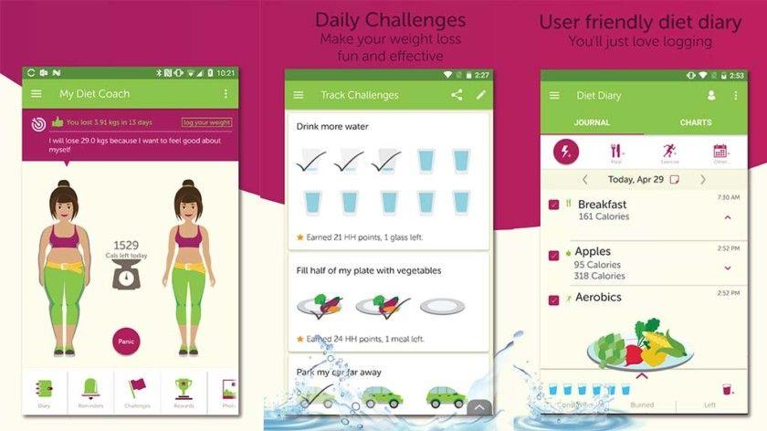 My Diet Coach Diet apps, Best nutrition apps, Diet diary