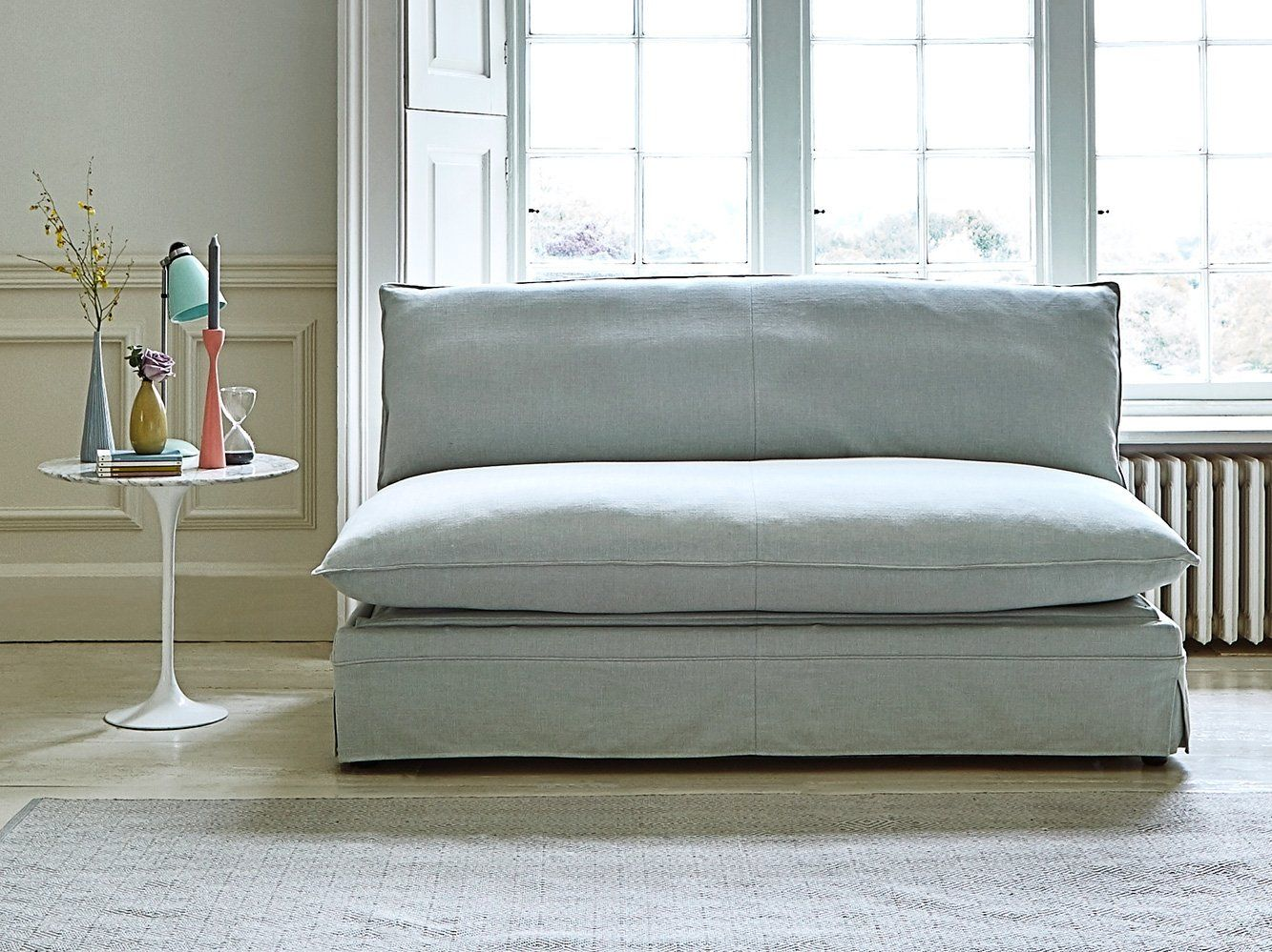 This Is How I Look In Herringbone Dew With Feather Wrapped Foam Seat Cushions Modular Sofa Bed Sofa Bed Comfortable Sofa