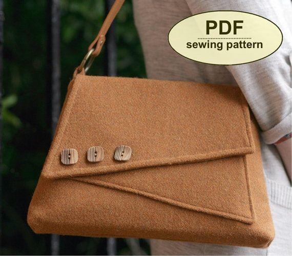neu schnittmuster breckland bag instant download von. Black Bedroom Furniture Sets. Home Design Ideas