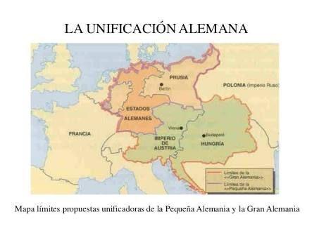 Resultado de imagen para unificacion de italia y alemania