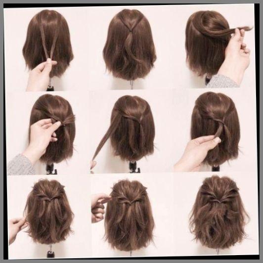 Peinados Para Cabello Corto Trenzas Paso A Paso Hairdos For Short Hair Short Hair Updo Hair Styles