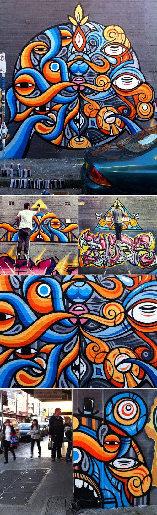 Graffiti art information - Street Art Australia