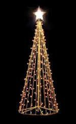 outdoor homemade christmas tree - Google Search | outdoor ...
