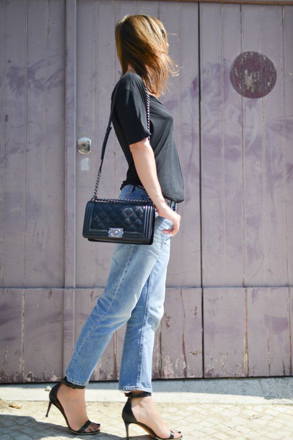 Sac Chanel Boy- jeans acne- septembre 2013   Fall Winter fashion ... 44903d9fccdc