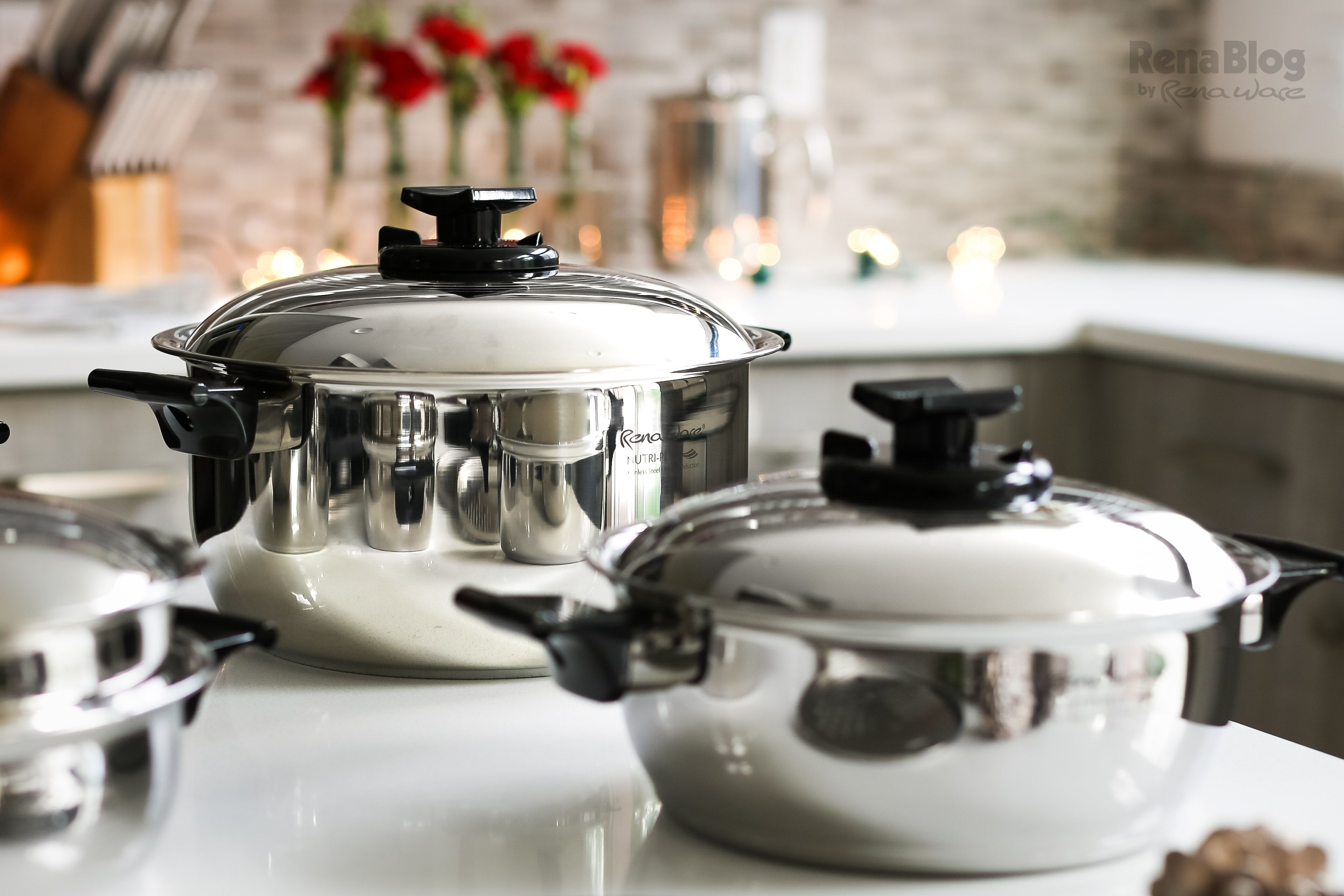 Los de utensilios juegos chef i o chef ii de rena ware son for Utensilios para servir comida